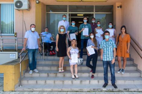 Uspešno završena IT obuka za OSI u Kragujevcu Forum mladih sa invaliditetom Kragujevac